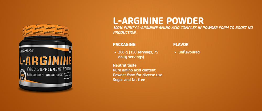 BioTechUSA L-Arginine Powder