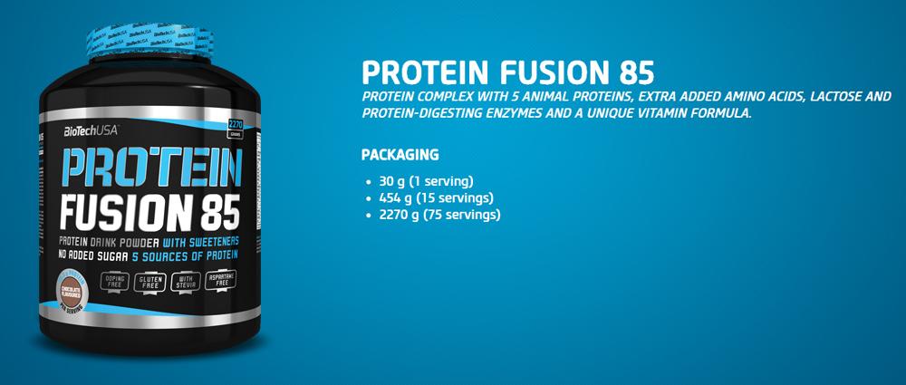 BiotechUSA Protein Fusion 85