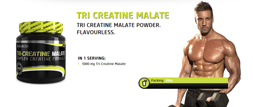 BioTechUSA Tri-Creatine Malate