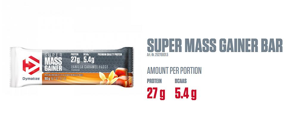 Dymatize Super Mass Gainer Bars
