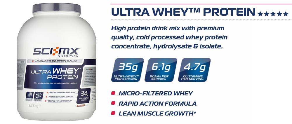 Sci-MX Ultra Whey Protein