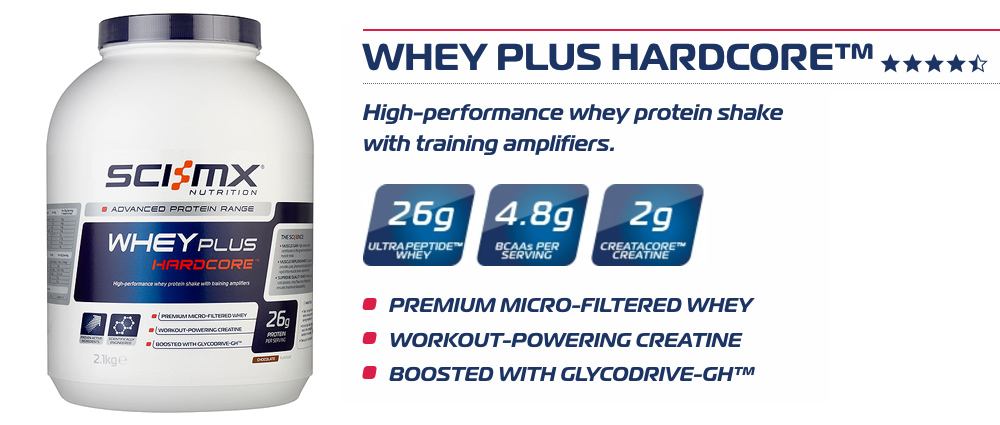 Sci-MX Whey Plus Hardcore