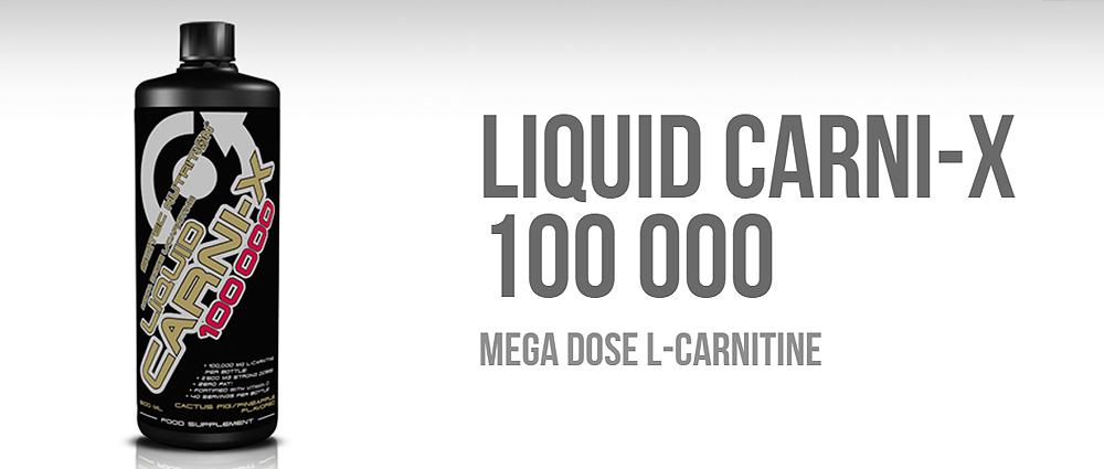 Scitec Nutrition Liquid Carni-X 100000 (500ml) Carnitine