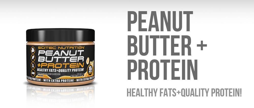 Scitec Nutrition Peanut Butter + Protein